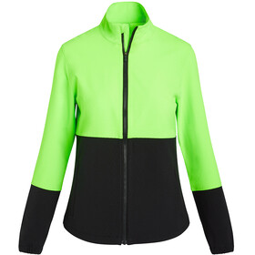 saucony Bluster Giacca Donna, verde/nero